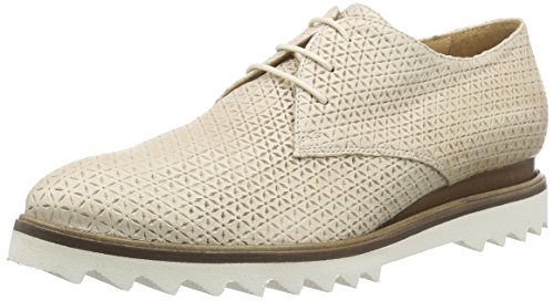 Objects in Mirror C320 - Zapatos Derby Mujer Beige