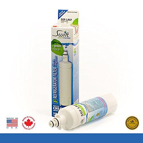 Swift Green LG replacement water filter LT700-P, 04609690...
