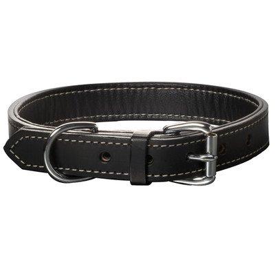 Woofwerks Black Tie Collar, 1 by 16-Inch