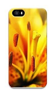 iPhone 5 5S Case Golden stamens 3D Custom iPhone 5 5S Case Cover