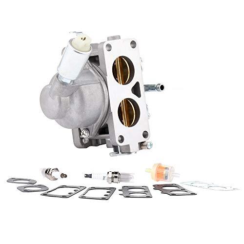 (cciyu Carburetor Fits Briggs Stratton 791230 699709 499804 20-25hp Manual Choke Complete Carb Carburetor)