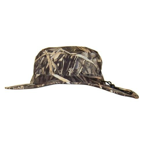 Frogg Toggs NTH103-56 ToadSkinz Waterproof Boonie Camo Hat, Realtree Max