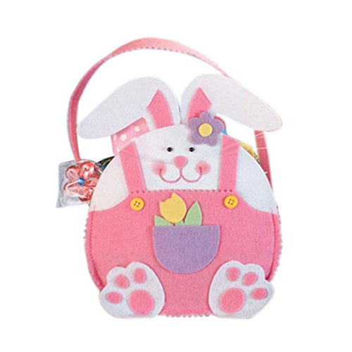 Malloom Easter Cute Rabbit Candy Egg Bags Creative Present G