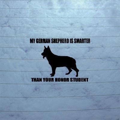 german shepherd window decals - 9