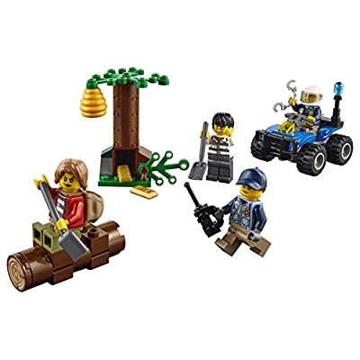 LEGO City Mountain Fugitives 60171 Building Kit (88 Piece): Toys & Games