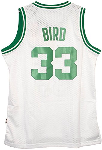 Larry Bird Boston Celtics White Throwback Swingman Jersey (Larry Bird Celtics Jersey)