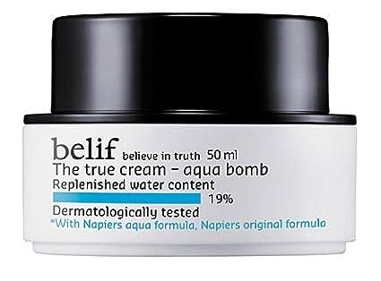 belif Cosmetici coreani, LG casalinghi & salute Cura_, la vera crema - bomba Aqua 50 millilitri