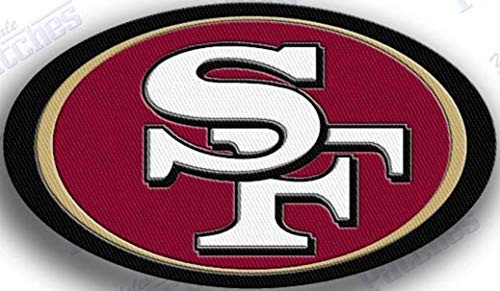49ers patches sew on - 5