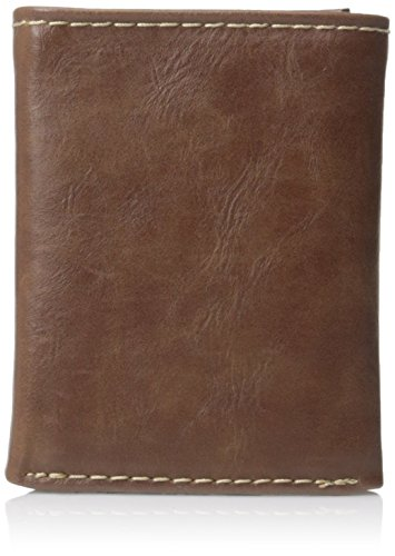 Columbia Men's RFID Blocking Lofton Trifold Security Wallet,Tan,One Size ()