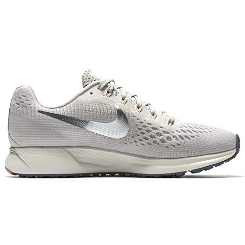 Mujer 34 Zapatillas Multicolor light 001 Nike Zoom Wmns Para chrome sail pale Bone Pegasus Air Grey AwqwU0xIf