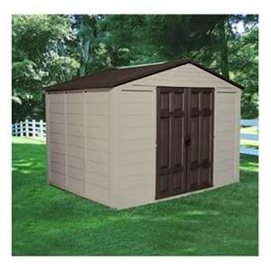 Suncast Corporation A01B21C02 10 x 7.5 ft. 474 Cubic Feet Capacity Outdoor Storage Building
