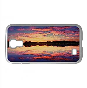Pastel Sunset Watercolor style Cover Samsung Galaxy S4 I9500 Case (Kansas Watercolor style Cover Samsung Galaxy S4 I9500 Case)