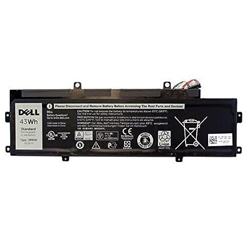 New Genuine Dell Chromebook 11 P22T 43Wh 11.1V Battery 5R9DD (Chromebook New)