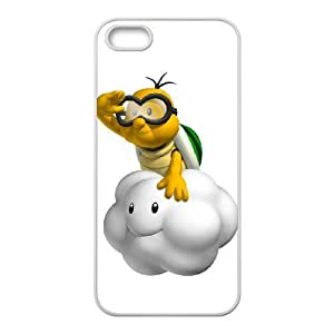 iPhone 5 5s Cell Phone Case White lakitu Popular games image WOK1024663