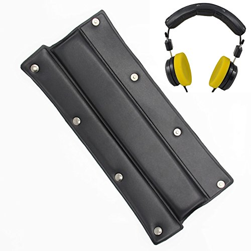 Replacement Upgrade Headband Cushions Kit Black Cushion Pad Parts Universal Fit Most Headphone Models,for Many Headphones Like DENON, SHURE, SONY, BOSE, AKG And Other