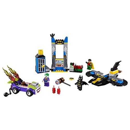 LEGO Juniors/4+ DC The Joker Batcave Attack 10753 Building Kit (151 Piece)