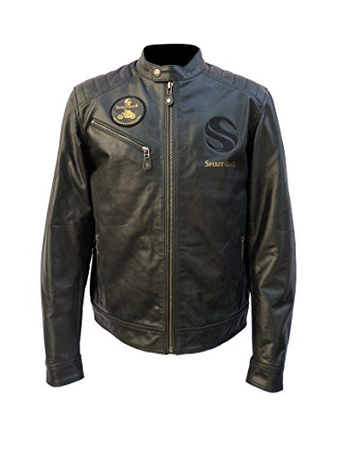 Waxed Cotton Motorcycle Jacket - 5