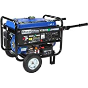 Duromax Hybrid Propane Or Gasoline Powered Portable Generator, Duel Fuel, 4,400w