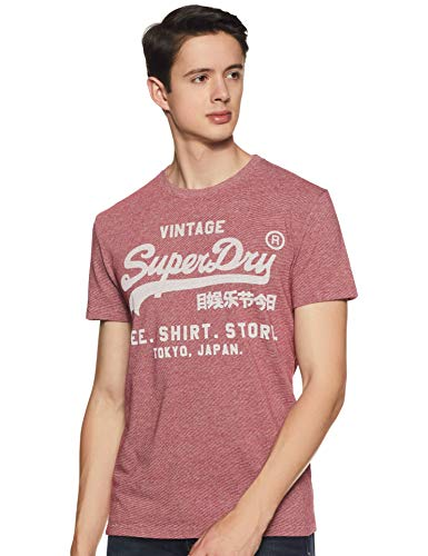 Shop T Rosso Uomo Shirt Zk3 Tee Grit red Feeder Superdry UxwPfqgn5w