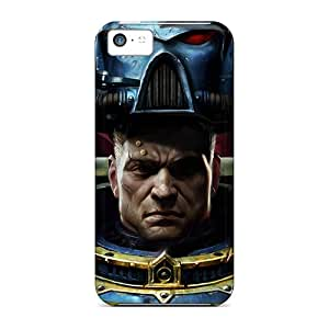 Excellent Hard Cell-phone Cases For Iphone 5c With Provide Private Custom Trendy Space Marine Warhammer 40 000 Pattern CharlesPoirier