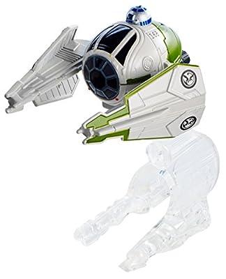 Hot Wheels Boys Star Wars Starship Yoda's Starfighter (Clone Wars)