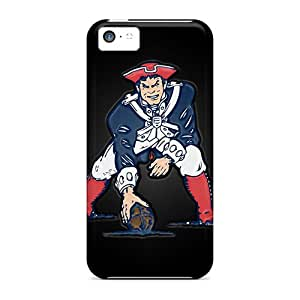 Scratch Resistant Hard Cell-phone Cases For Iphone 5c (fNp20204AbSP) Provide Private Custom Nice New England Patriots Skin