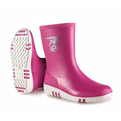 Dunlop Mini Kinder Gummistiefel Pink