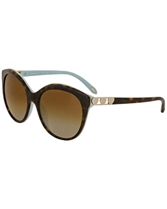 8a0121172b5 Image Unavailable. Image not available for. Color  Tiffany   Co. Womens  Women s Tf4133f 56Mm Polarized Sunglasses