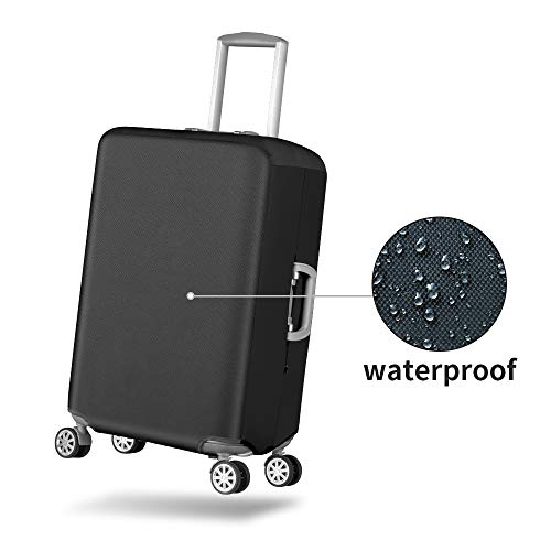 f84db44660dd Travel Luggage Cover Durable Anti-Scratch Suitcase Protector Fits 20-30  Inch Luggage (Waterproof Oxford Fabirc+Elastic Cloth)