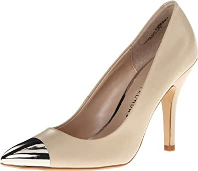 Chinese Laundry Women's Danger Zone Pump,Nude,9.5 M US