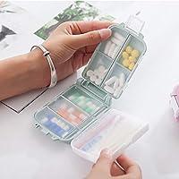Draagbare Mini Pillendoos Medicijndoosje 3 Mesh Reis Naar Huis Medische Medicatie Tablet Lege Container Familie Houder…