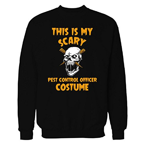 This Is My Scary Pest Control Officer Costume Halloween - Sweatshirt Black 4XL -