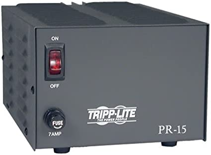 Amazon Com Tripp Lite Pr15 Dc Power Supply 15a 120v Ac Input To 13 8v Dc Output Taa Gsa Home Audio Theater