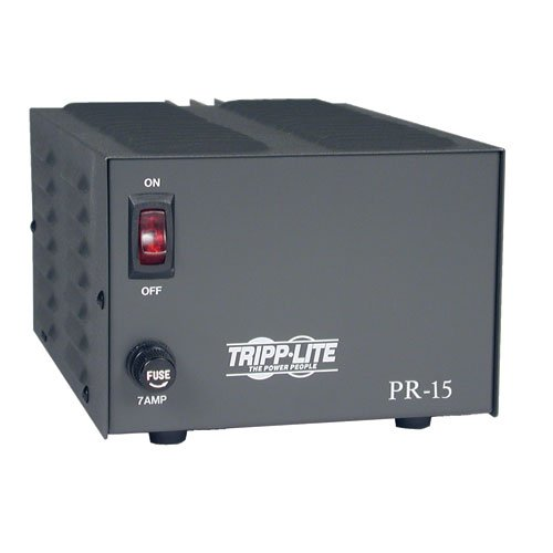 Tripp Lite PR15 DC Power Supply 15A 120V AC Input to 13.8V DC Output TAA GSA by Tripp Lite (Image #2)