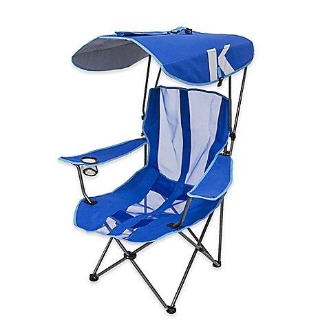 Kelsyus Original Canopy Folding Arm Chair in Royal Blue