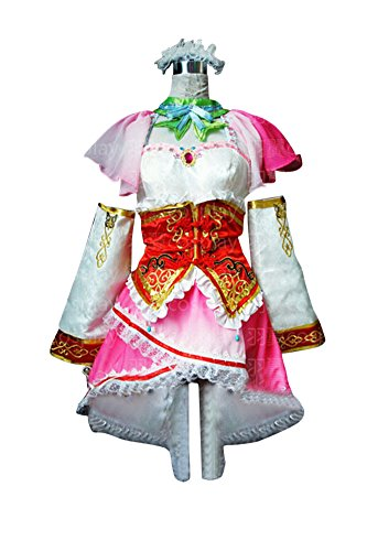 Mtxc Women's Dynasty Warriors 5 Cosplay Costume Xiao Qiao Dress Size Small Pink