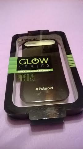 Polaroid GLOW series - Glow in the dark case for iPHONE 5/BLACK+LIME GREEN (Polaroid Glow In The Dark)