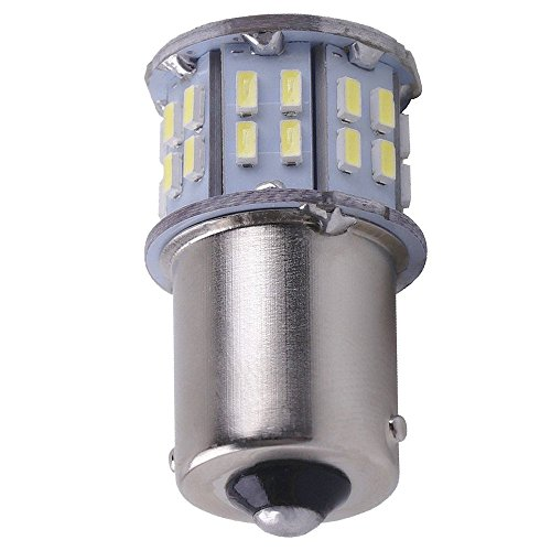 - LED Miniature Extremely Super Bright Light Bulb 6000K Xenon White Replaces 1156 1141 1003 1073 BA15S 7506 50 SMD 3014
