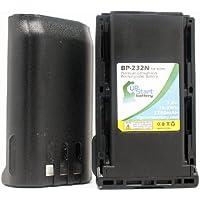 2x Pack - Icom BP-232Li Battery - Replacement for Icom BP232N Two-Way Radio Battery (2200mAh, 7.4V, Lithium-Ion) - Also compatible with Icom IC-A14, IC-F3011, IC-F24, IC-F3021, IC-F34, IC-F43, IC-F43GS, IC-F43GT, IC-F43TR, IC-F44, IC-F33GT, IC-F3021S
