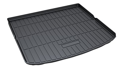 - Kaungka Cargo Liner Rear Cargo Tray Trunk Floor Mat Waterproof Protector for 2015 2016 2017 2018 Ford Edge (Only Fit that with Five Chairs) ¡­