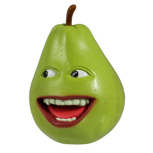 Annoying Orange - Collectible Talking PVC Figure - PEAR (4 inch scale) by Annoying Orange