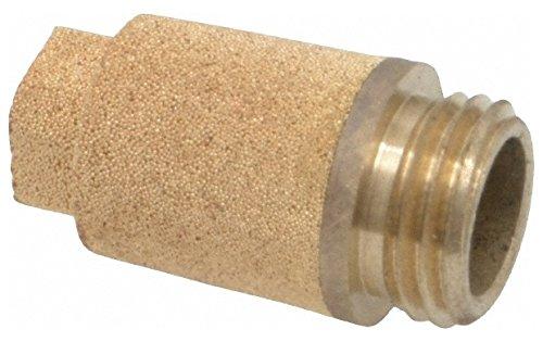 1/4 BSPP, 24.5mm OAL, Muffler 175 Max psi, 6 CFM, 85 Decibel Rating, Bronze by Legris