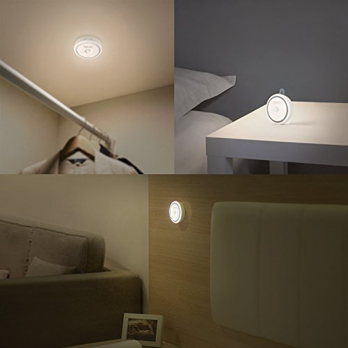 Aglaia motion sensor light usb rechargeable stick on light import it all - Luci per scale ...