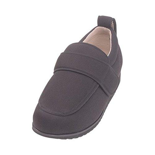 介護靴 外出用 NEWケアフル 7E(ワイドサイズ) 7008 両足 徳武産業 あゆみシリーズ /M (22.0~22.5cm) 黒 B07D1LC3DF