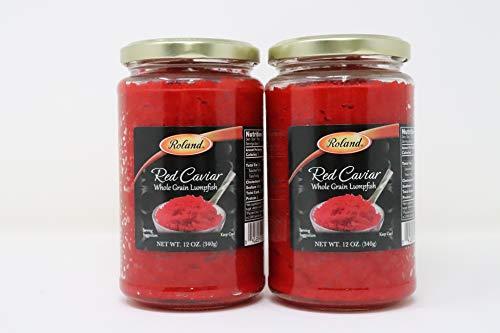 (Roland- Red Caviar Whole Grain Lumpfish)
