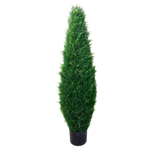 41 inch Pure Garden Cypress Artificial Tree