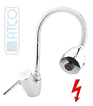 Interesting Atco Niederdruck Spltisch Brause Flexibel Gastro Wasserhahn  Waschtisch Armatur Boiler With Niederdruck Armatur Mit Brause