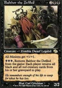 Magic: the Gathering - Balthor the Defiled - Judgment - Foil by Magic: the Gathering