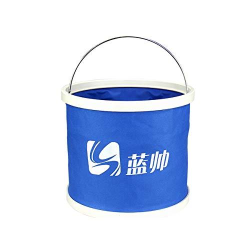 - Huijunwenti Car Folding Bucket, Car Wash, Portable Special Large Retractable Travel Car Shrink Barrel, Fishing, Blue, Orange products 3 (Capacity : 9L)
