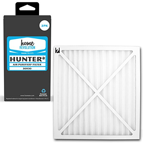 Home Revolution 2 Replacement HEPA Filters, Fits Hunter 30200, 30201, 30205, 30250, 30253, 30255, 30256, 30350, 30374, 30375, 30377, 30380, 30390, 37255 and 37375 Air Purifiers and Part 30930 For Sale
